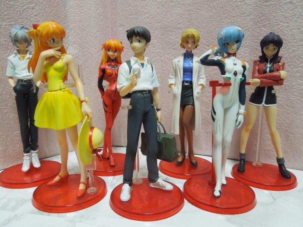 Evangelion Prize Figures Shinji Ikari /& Kaworu Nagisa School Uniform