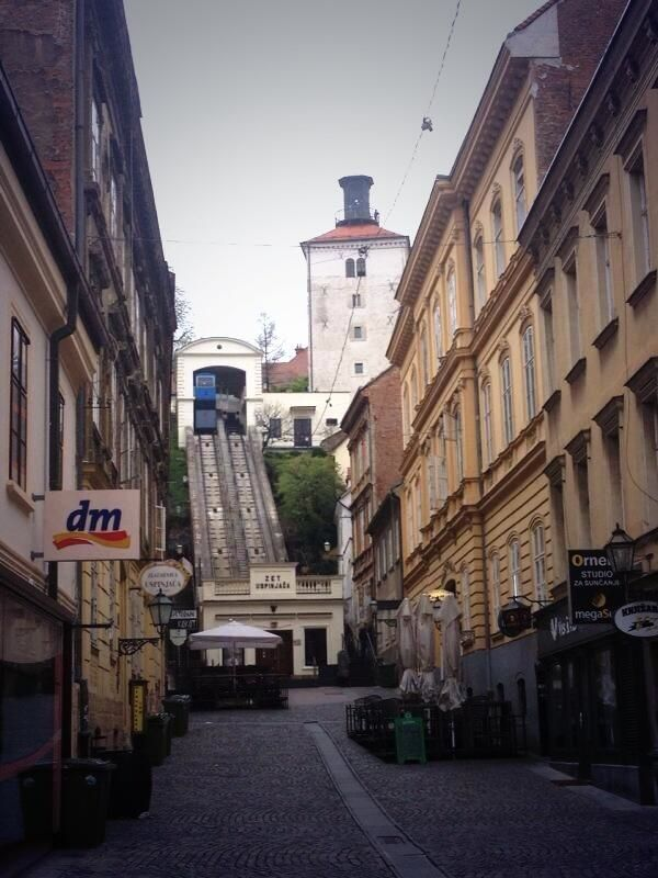 Uspinjaca Zagreb Cro Zagreb Street View Road