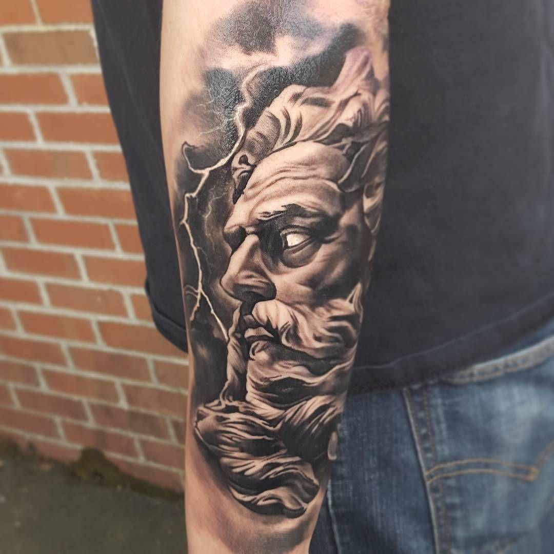 Tattoo Navio Pesquisa Google Tatuagem Zeus Tatuagem De Estatua Tatuagens Gregas