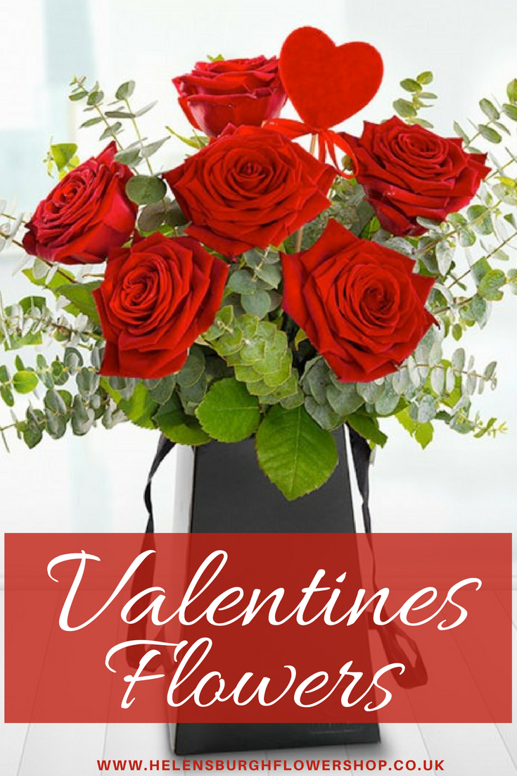 Helensburgh Flower Shops Romantic Flower Collection For Valentines