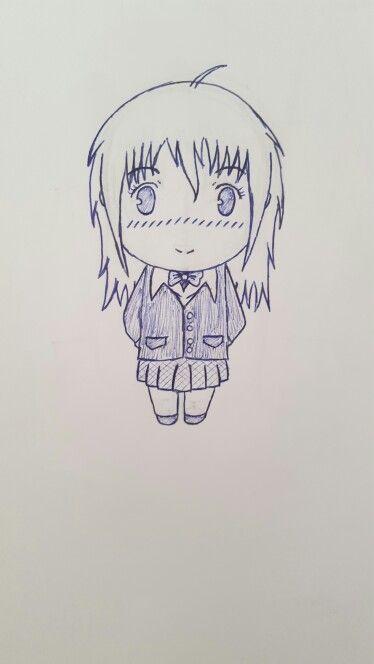 Misaki Ayuzawa. Kaichou wa Maid-sama versão chibi ou pelo menos uma tentativa disso