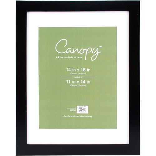 Canopy Flat Gallery 11x14 Matted Picture Frame At Walmart For 1697