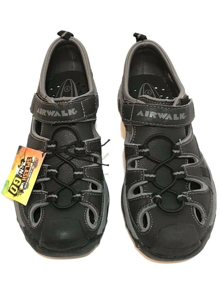 19f3319206417 Airwalk Boys Youth Size 4 Splash N Go Water Shoes, Sneakers, Summer ...
