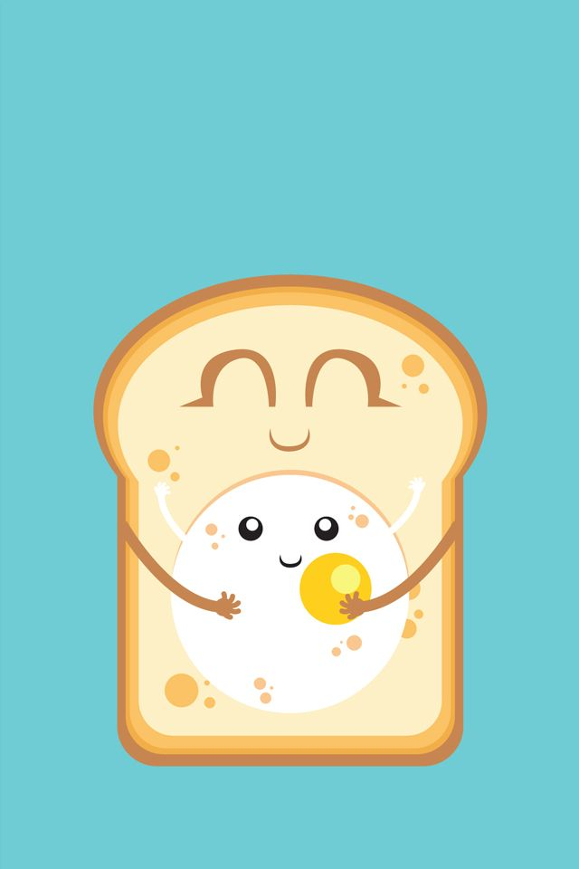 Super cute Love Wallpaper : Egg Love / Soo #Kawaii > Download more super cute #iPhone #Wallpapers at @prettywallpaper ...