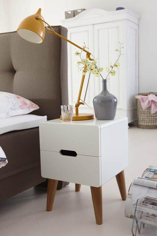 Design Nachtkastjes Wit.Dansk Nachtkast Wit Interieur Bedroom Master Bedroom En Home