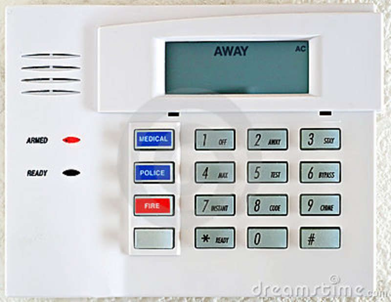 Keypad Digital Security System Alarm Systems For Home Home Security Tips Alarm System