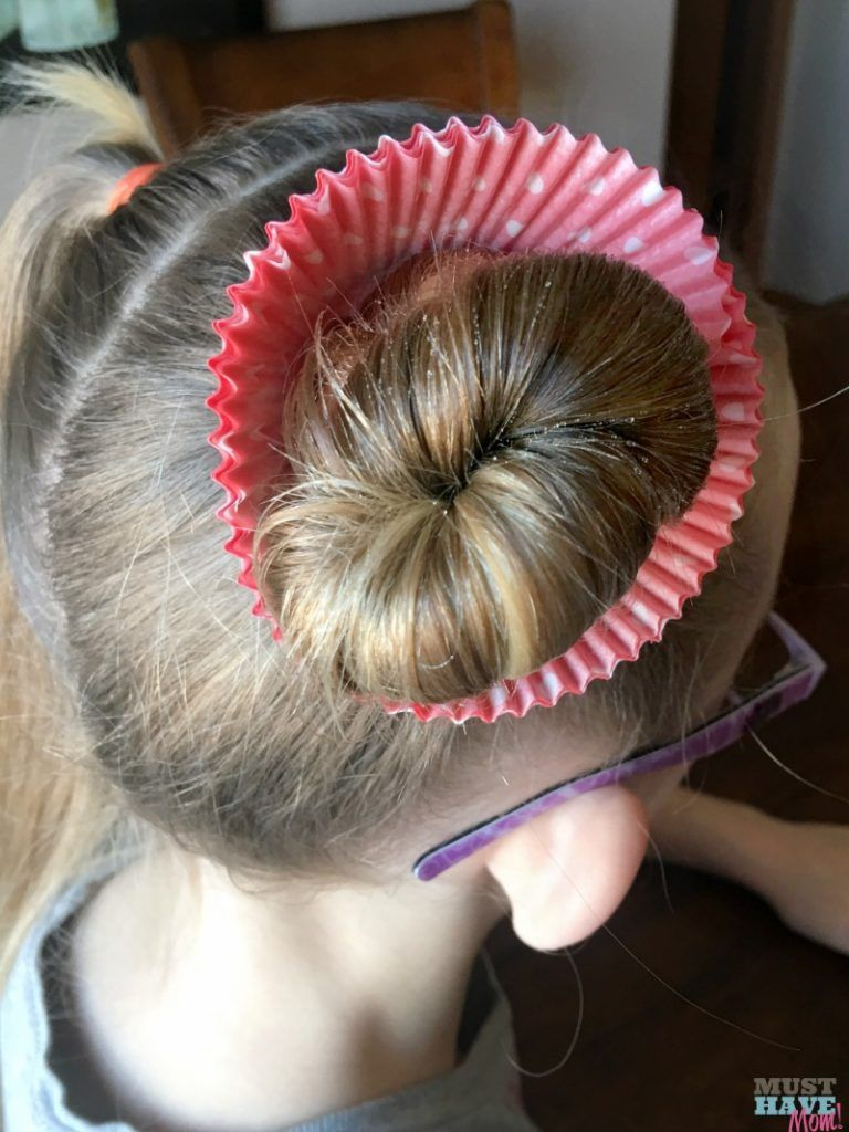 Crazy Hair Day Ideas Girls Cupcake Hairdo
