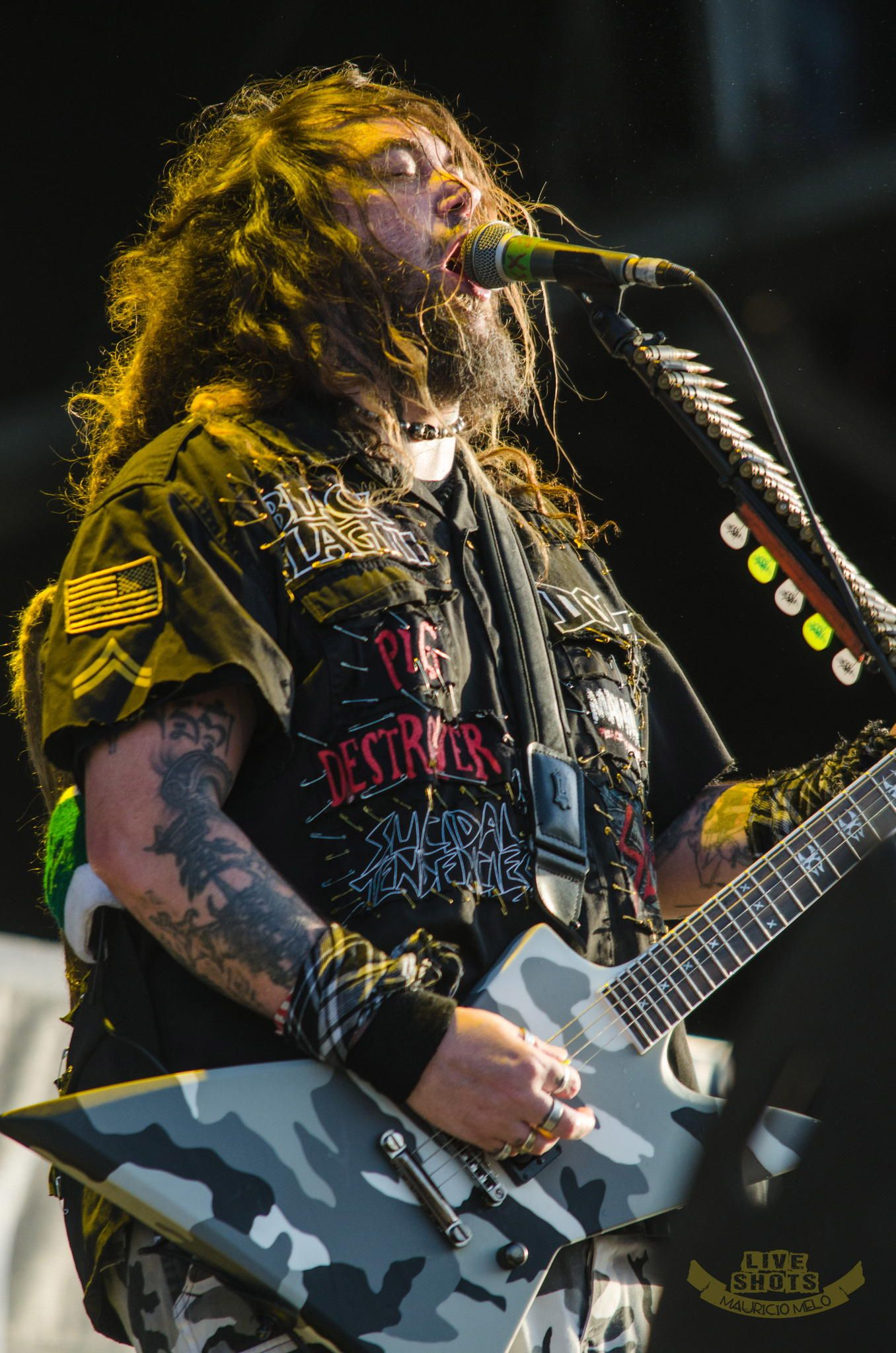 Soulfly @ Hellfest 2014 by Mauricio Melo Star Pictures Project on 500px