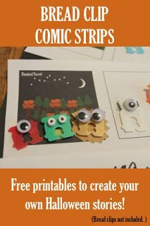 make your own b clip monsters and then tell a story using the  make your own b clip monsters and then tell a story using the comic strip