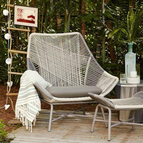 huron outdoor lounge chair cushion