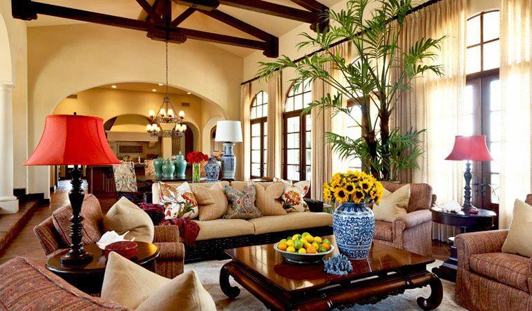 barclay butera interiors  british colonial decor living