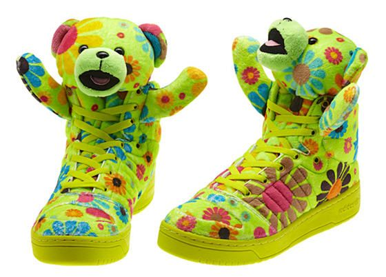 adidas jeremy scott teddy bear flower