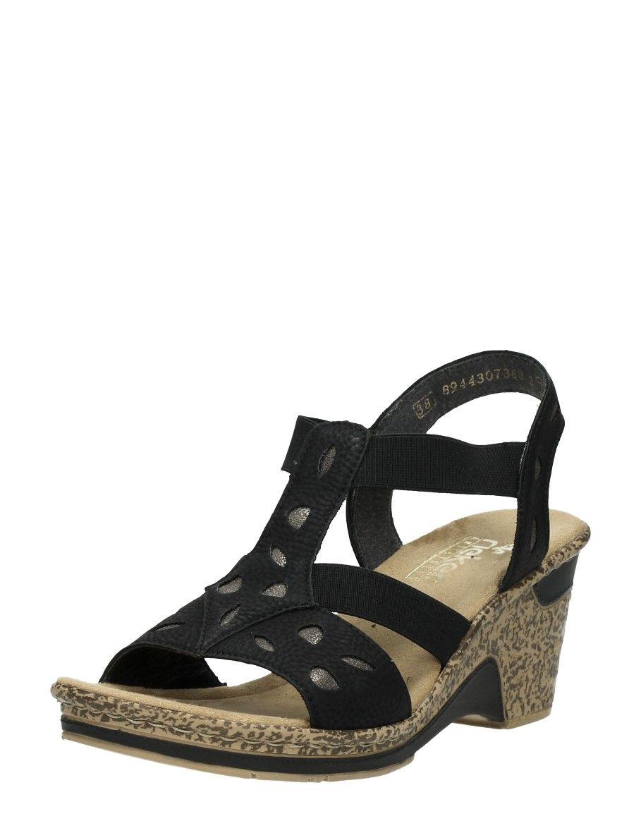 S dames sandaal gekleed rieker | Rieker sandalen, Sandalen