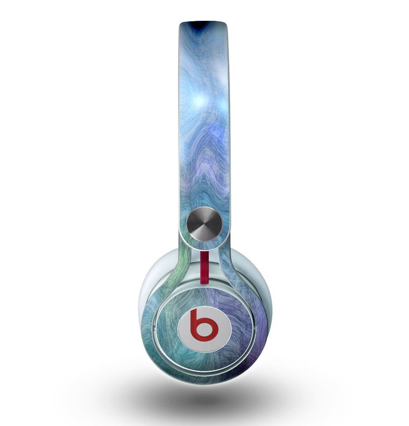 The Vivid Blue Sagging Painted Surface Skin for the Beats by Dre Mixr Headphones