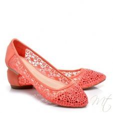 Dámske červené balerínky MILA #flats #shoes #balerinky
