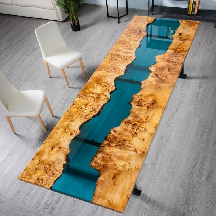 River Dining Table Wood Table Design Wood Slab Table Live Edge