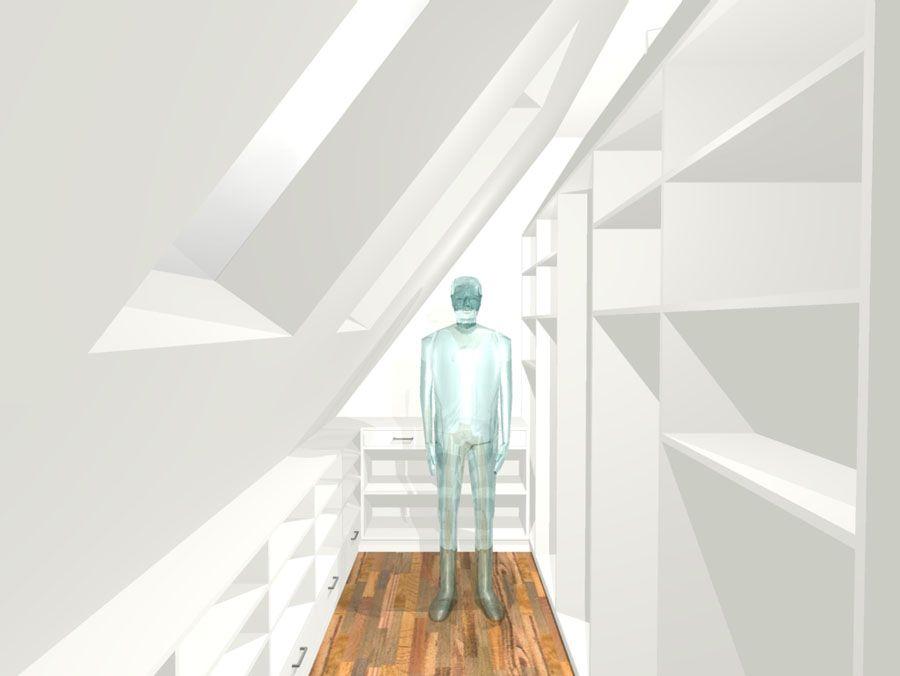 Bildergebnis für dachzimmer einrichten Haus Pinterest - schlafzimmer ideen mit schrgen