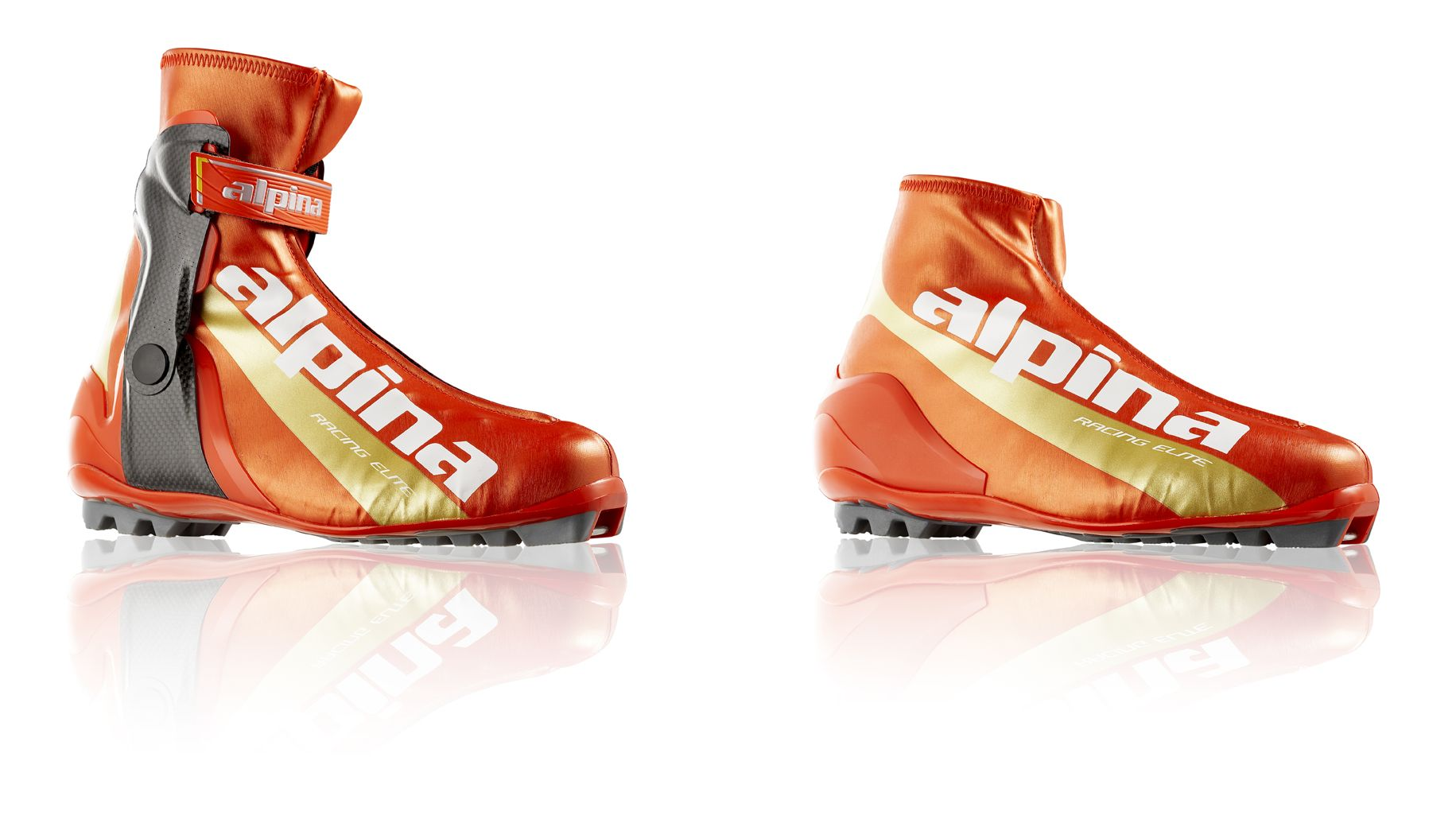 Alpina Racing Elite CS And CL Cross Country Ski Boots By Jure - Alpina skate ski boots