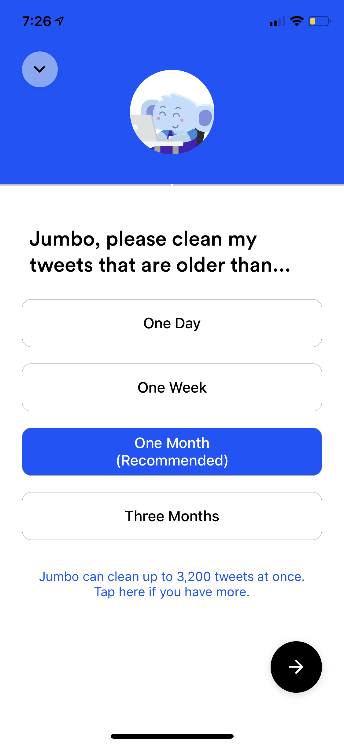 Jumbo Your Privacy Assistant Jumbo is a free iPhone app
