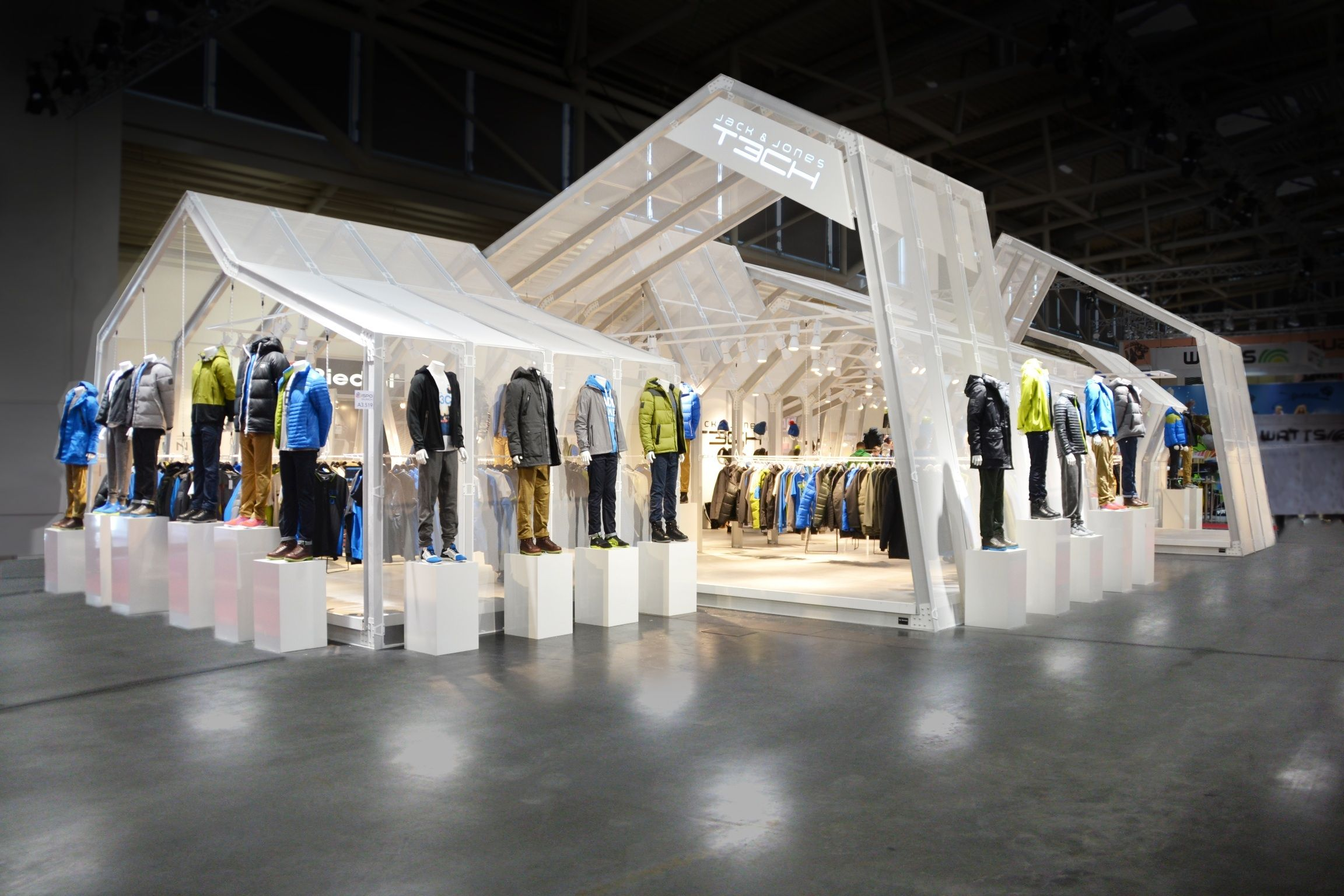 Great example of turning your booth into a retail store ...