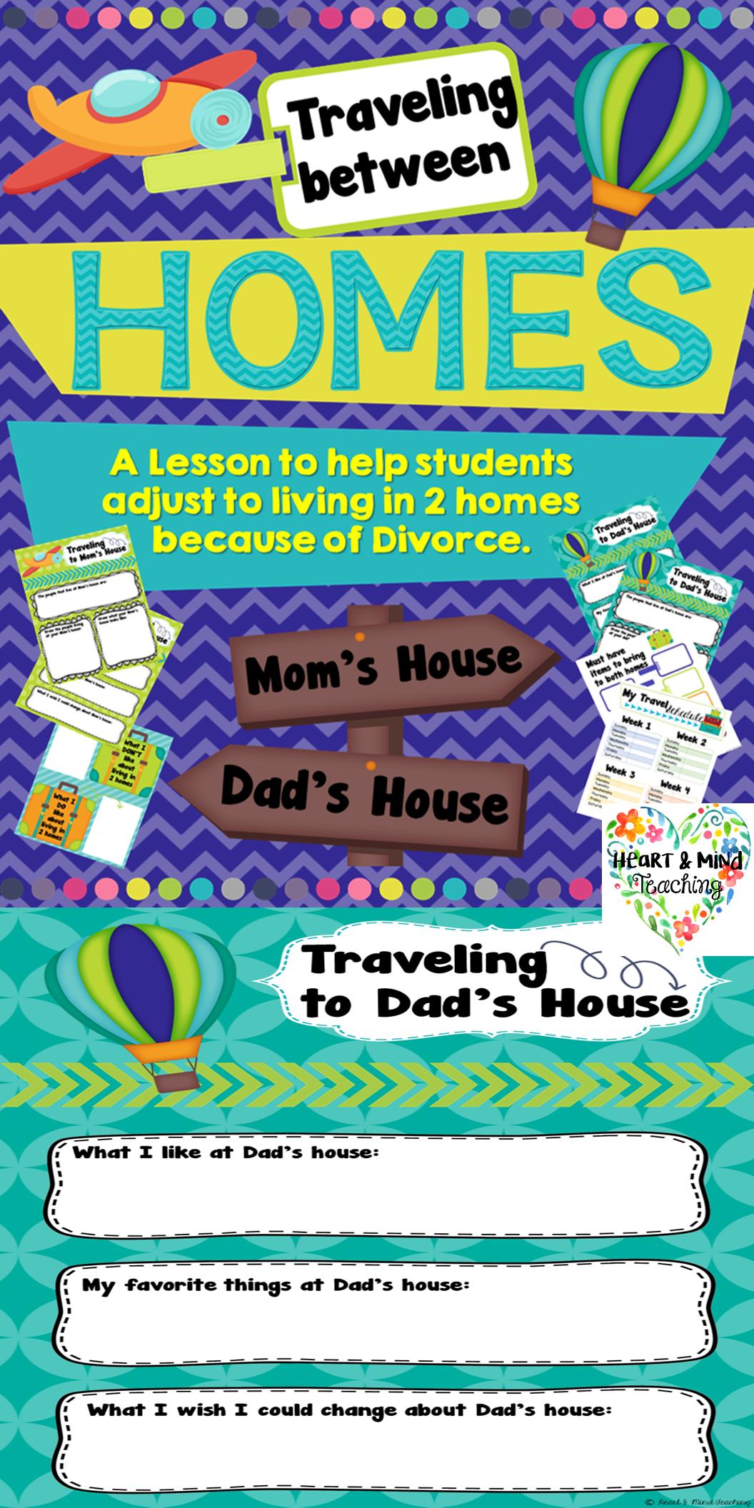Traveling Between Homes Adjusting To Divorce