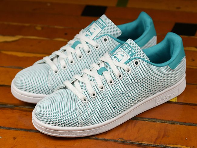 on sale e0131 04f25 adidas Stan Smith Adicolor Mesh Teal. @sneakerfiles ...