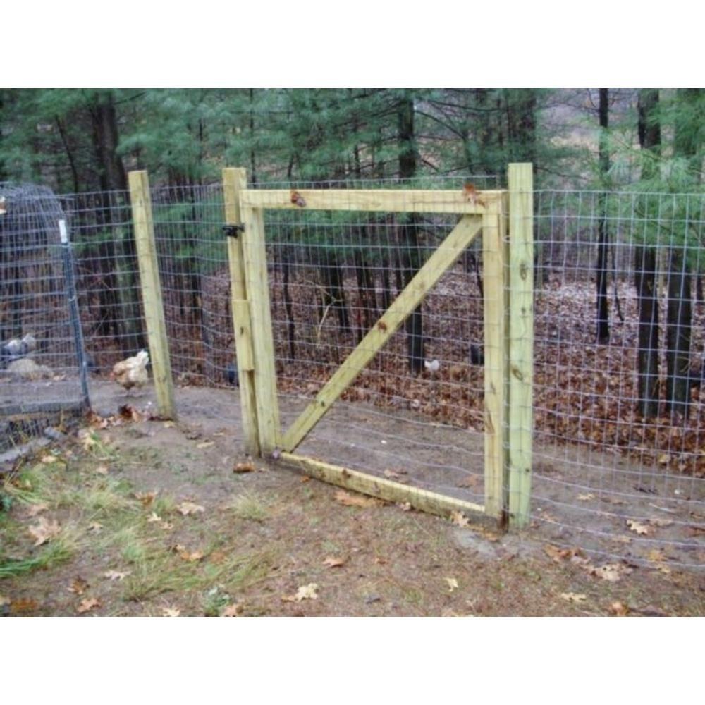 Allfenz 1 2 In X 24 In X 25 Ft Galvanized Welded Wire Fence