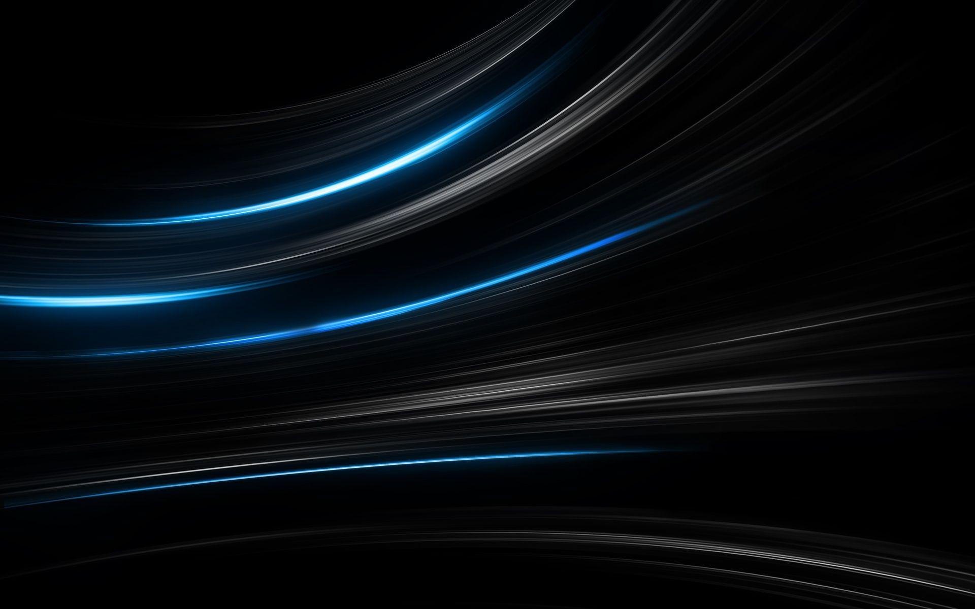 Flow Glow Hd Wallpaper Black And Blue Wallpaper Dark Blue Wallpaper Blue Wallpapers