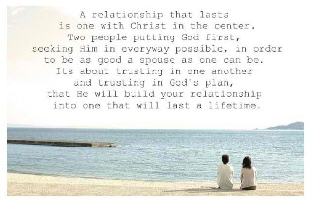Putting god first in relationships