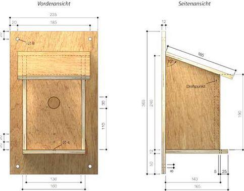 nistkasten spatzen nistkasten bauen nistkasten und vogelh user. Black Bedroom Furniture Sets. Home Design Ideas