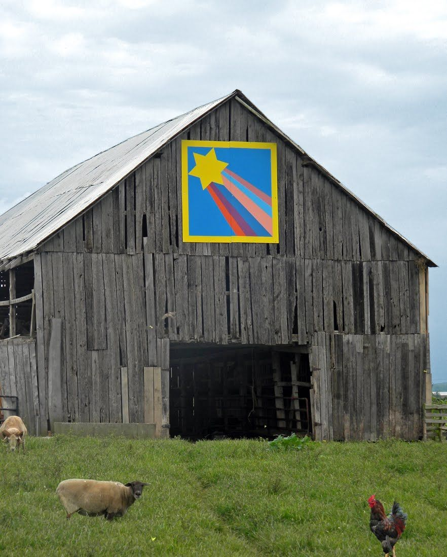 Pattern: 'Shooting Star' - Barn Quilts and the American Quilt Trail: October 2011
