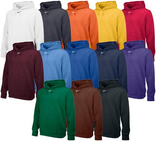 fb9562a162dc Nike Team Club Fleece Hoodie - Customization available. Fleece Hoodie