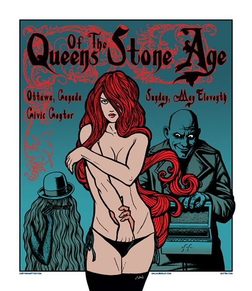 Queens of the Stone Age    By Justin Hampton