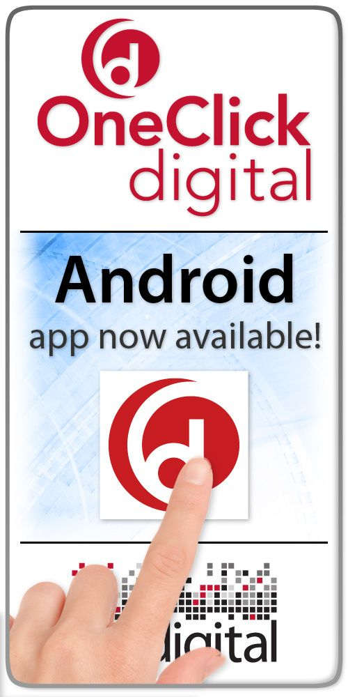 OneClick Digital Audiobooks and Ebooks via your local
