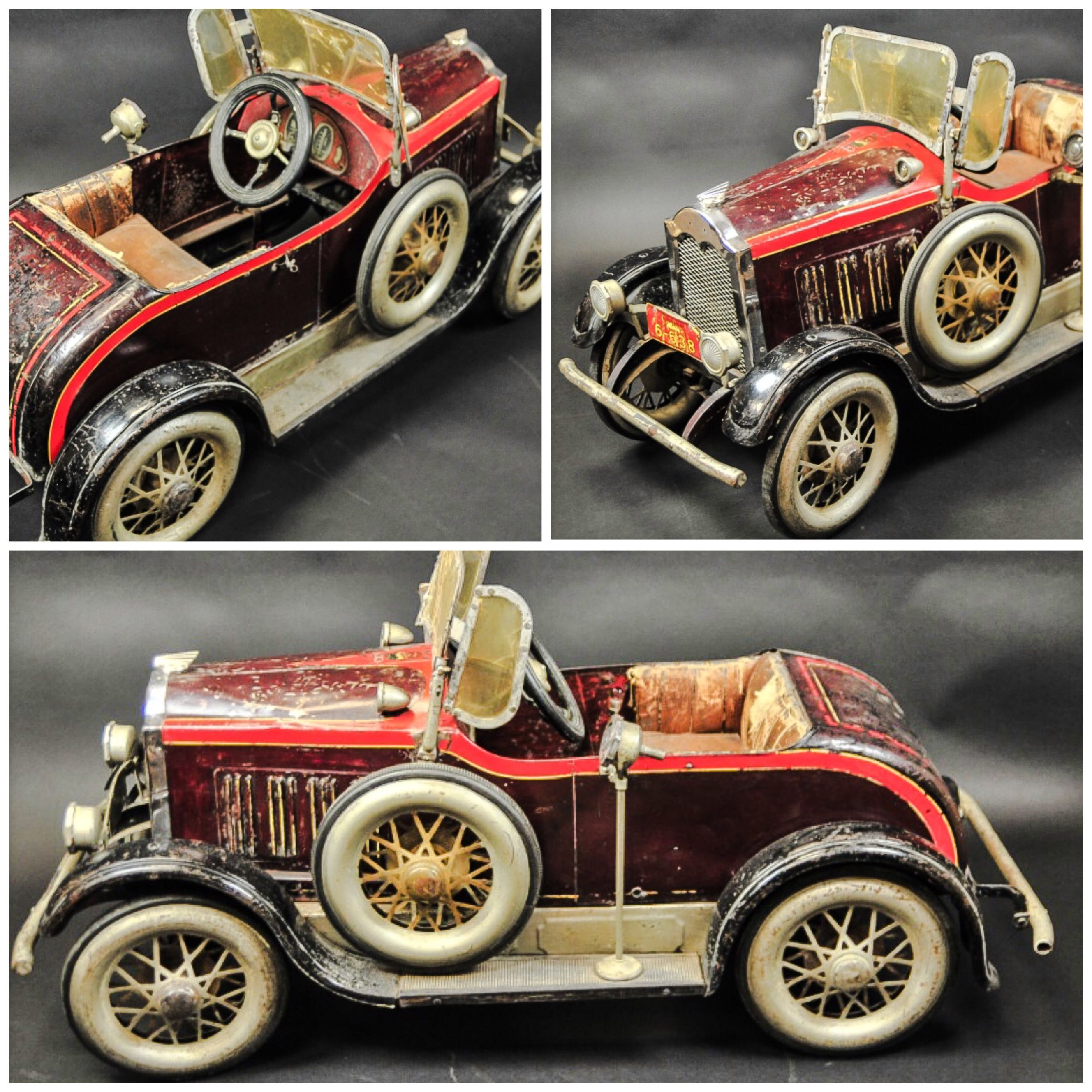 Toys car images  GENDRON PACKARD PEDAL CAR  Sold   USD  carritos clasicos
