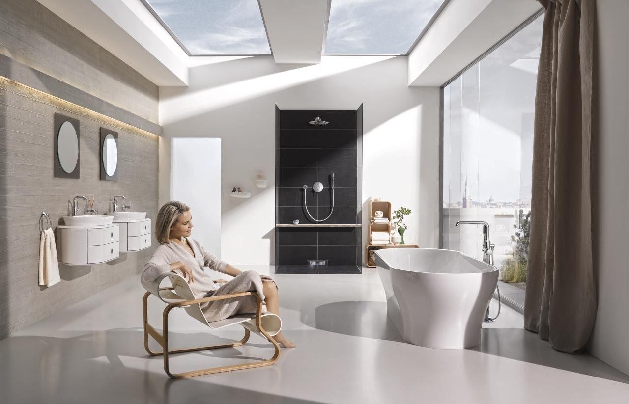 Grohe essence badkamerkranen luxe badkamers pinterest showroom