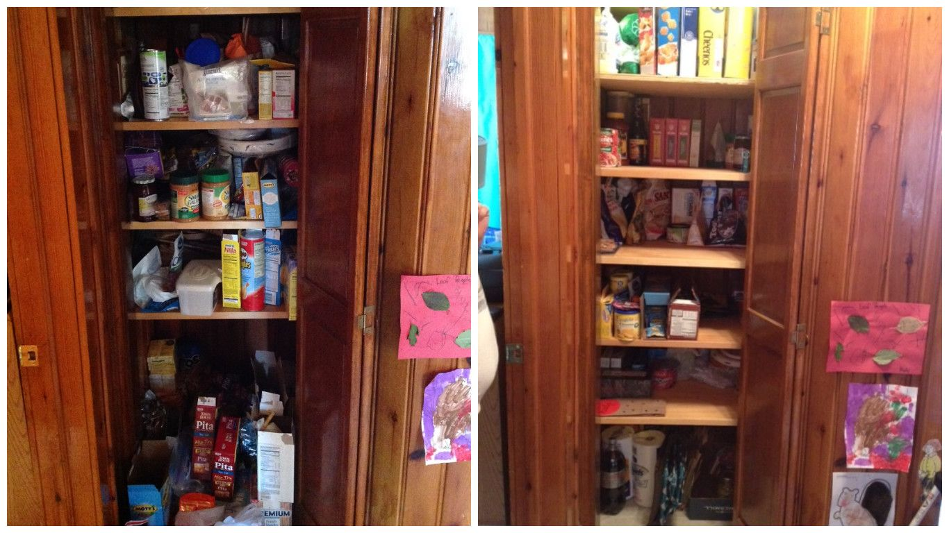 kitchen cabinet organization before and after by time genies housekeeping service in hickory nc on kitchen organization before and after id=38790
