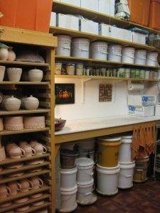 Gary Jackson Fire When Ready Pottery Ceramic Studio Ceramic Workshop Pottery Studio