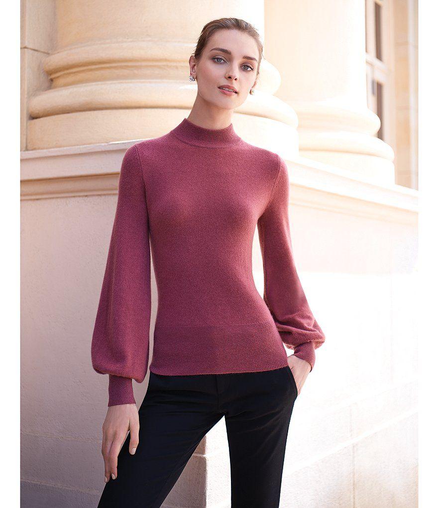 Antonio Melani Luxury Collection Cashmere Allie Mock Neck