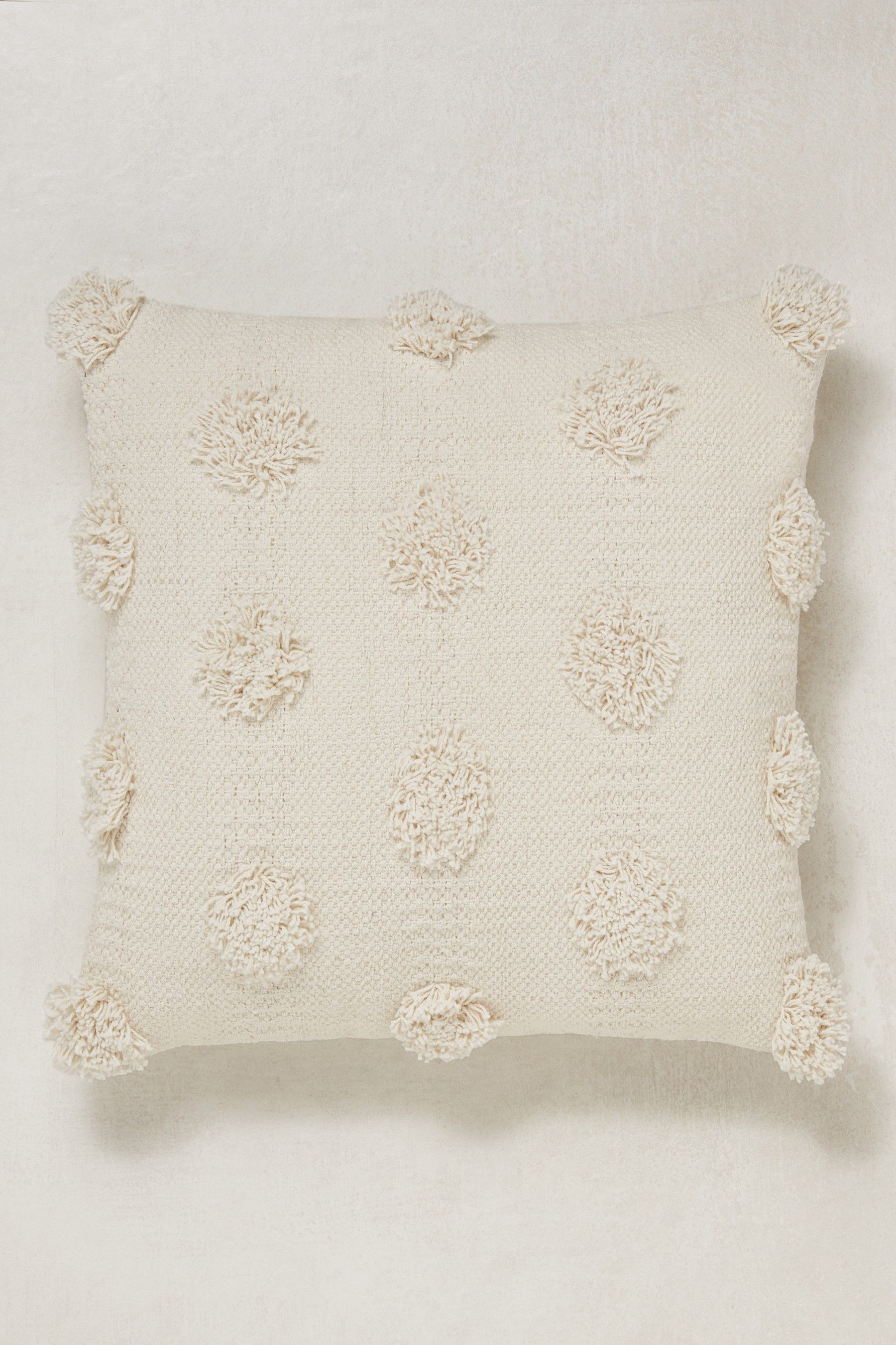 Next Textured Pom Pom Cushion Natural Projects To Try In 2019
