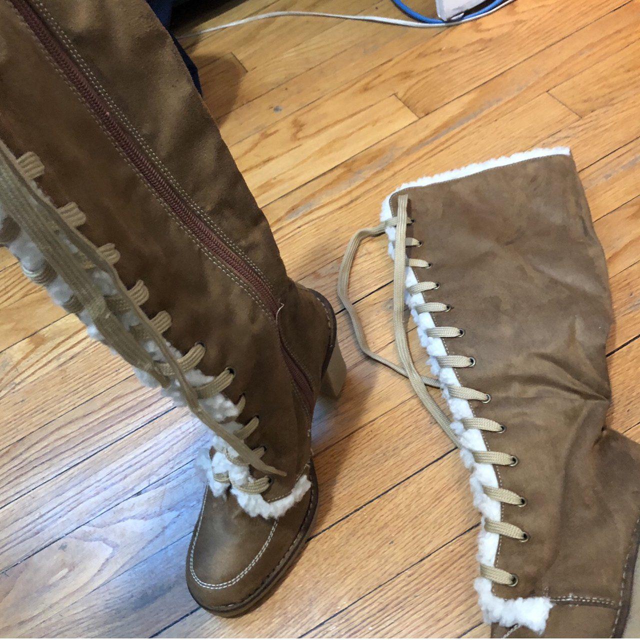 8389c4952c62 Listed on Depop by erika68 | DEPOP needs | Boots, Heeled boots, Depop