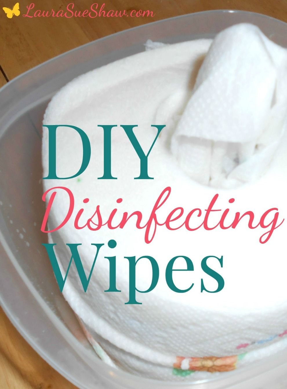DIY Disinfecting Wipes Disinfecting wipes, Cleaning
