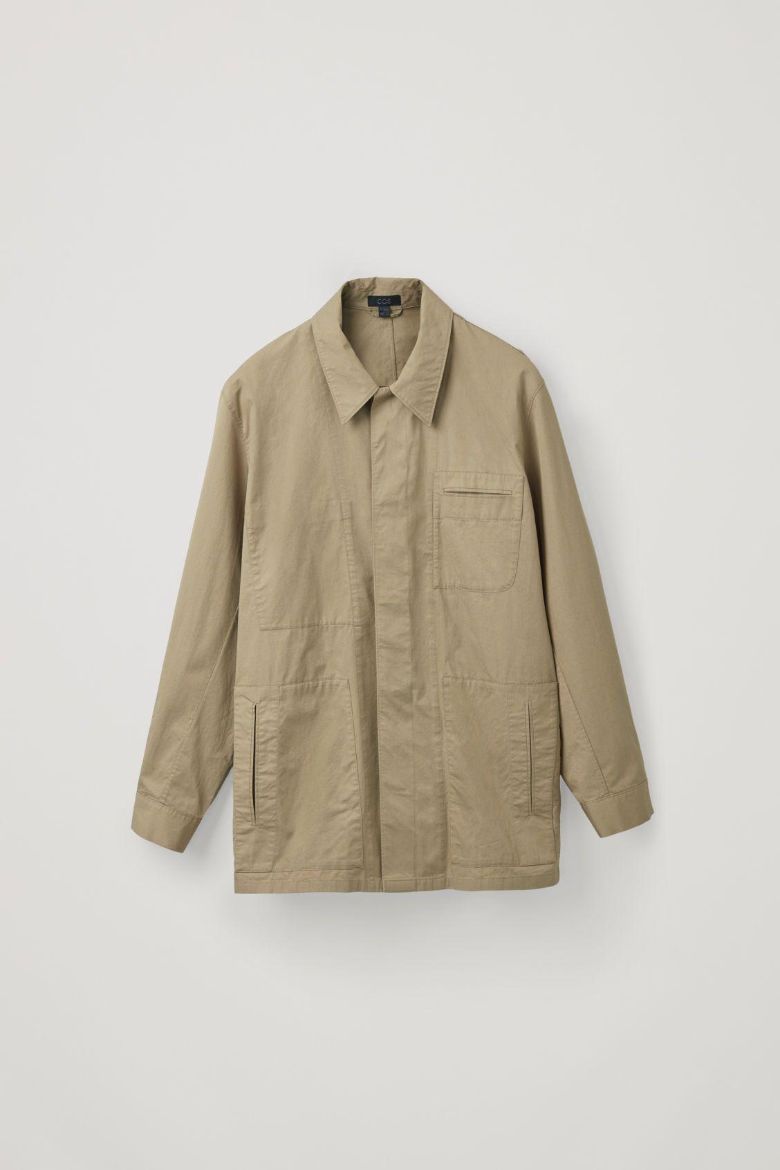 CASUAL WORKWEAR SHIRT JACKET | Workwear shirts, Shirt jacket