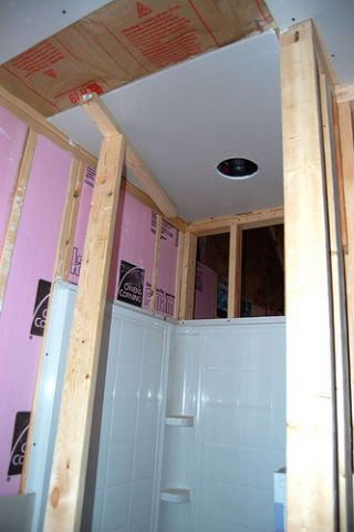 rooms mud hanging drywall diy screw walls surface spaces sink how tos ceilings hang and to just below each ceiling