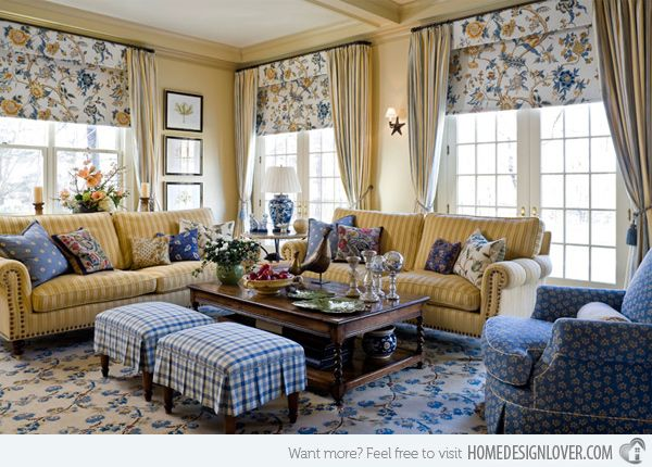 15 warm and cozy country inspired living room design ideas - Interior Design Living Room Warm