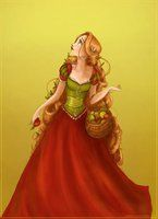 Picking apples by *Arbetta on deviantART