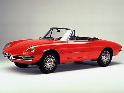 Alfa Romeo Spider Duetto 1966.