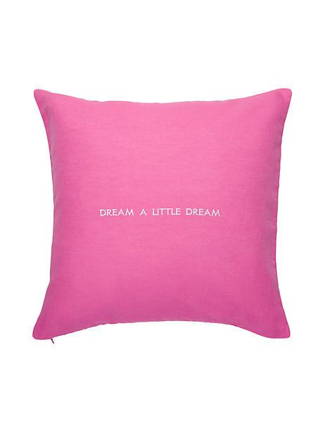 Words Of Wisdom Chic Happens Pillow By Kate Spade New York Darn Interesting Kate Spade Decorative Pillows