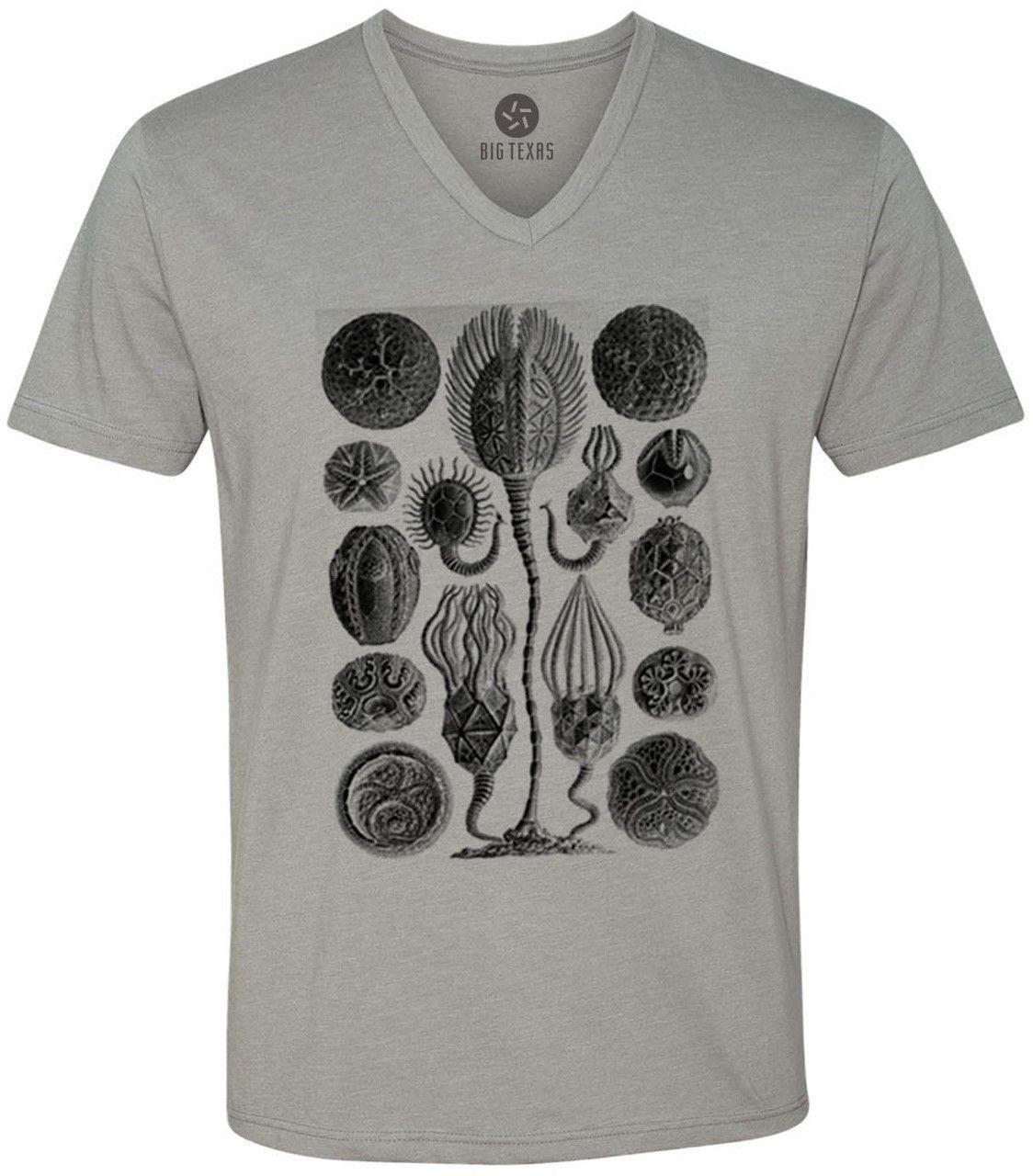 Microscopic (Black) Short-Sleeve V-Neck T-Shirt