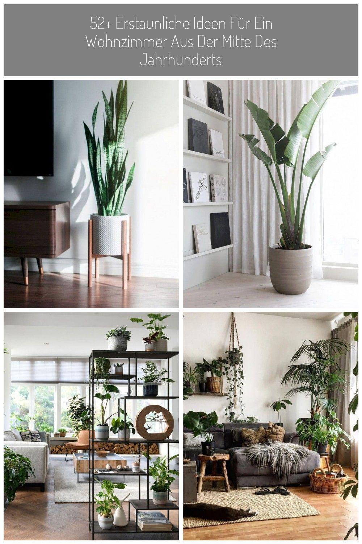 52+ Amazing Mid Century Living Room Decor Ideas 52 ...